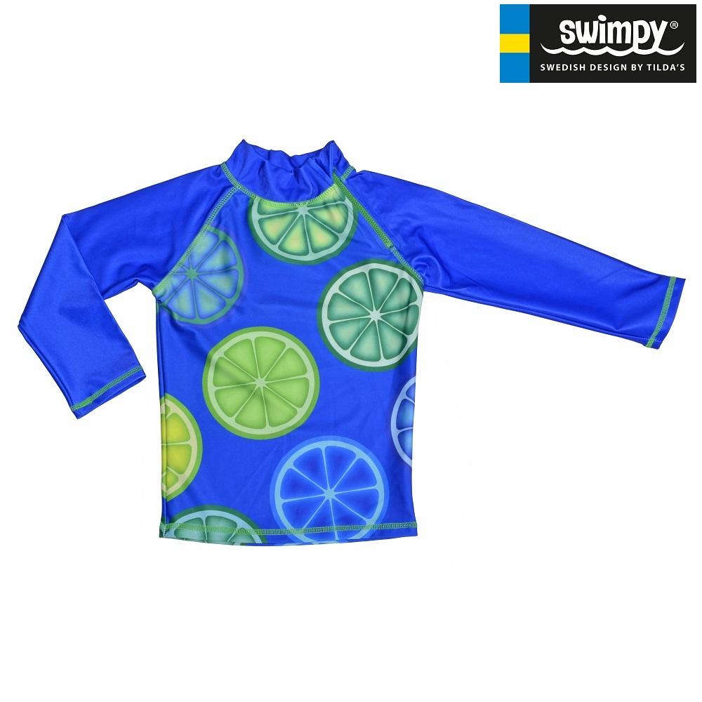 UV-trøje til børn Swimpy Blue Lemon