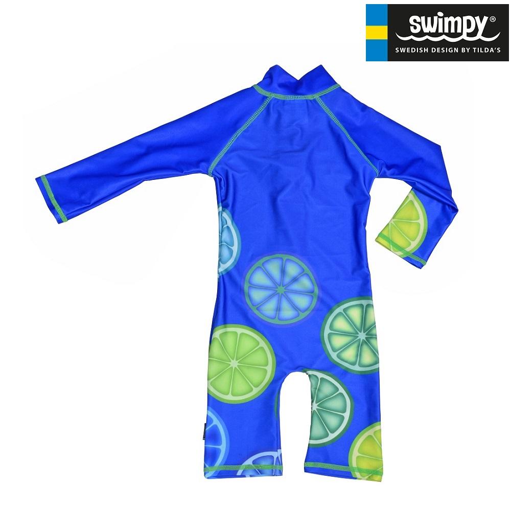 UV-dragt til børn Swimpy Blue Lemon