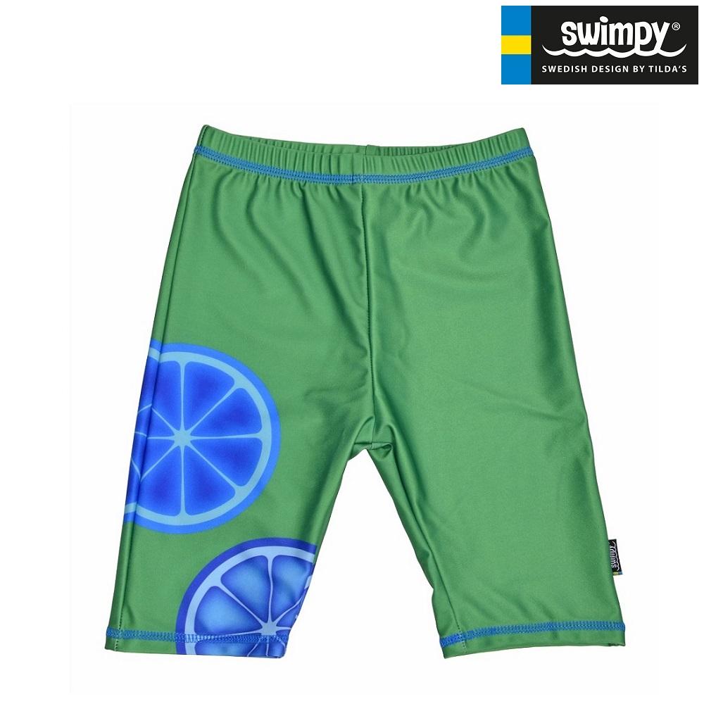 UV badebukser til børn Swimpy Blue Lemon