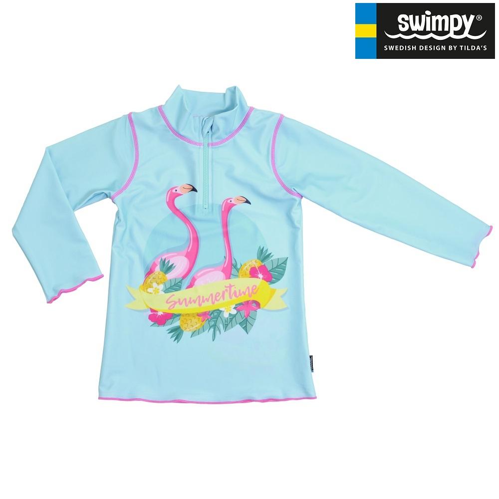 UV-trøje til børn Swimpy Flamingo