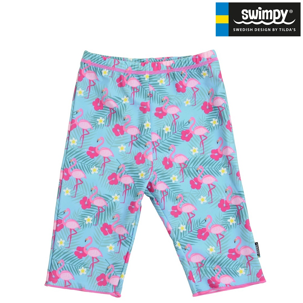UV badebukser til børn Swimpy Flamingo