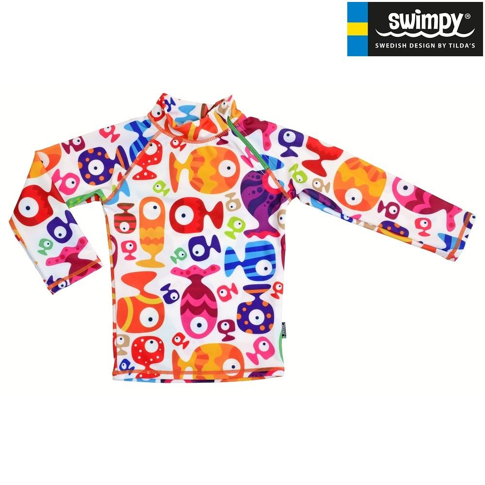 UV-trøje til børn Swimpy Funny Fish