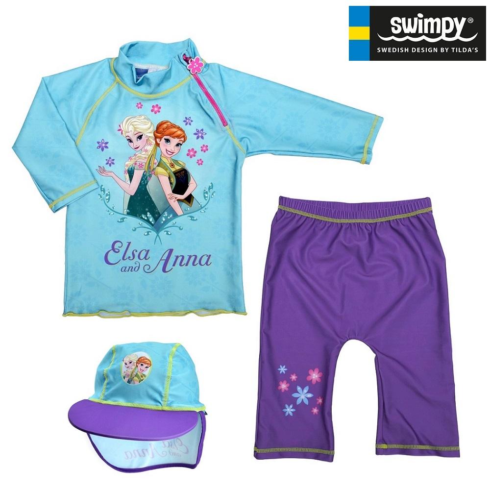 Swimpy UV børnebadetøj UV-Sæt Frost