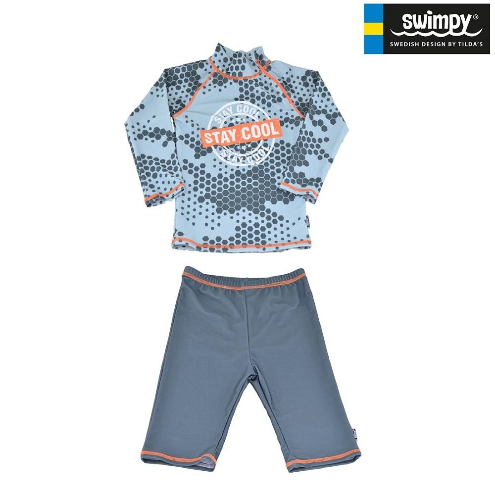 Sæt med UV-trøje og UV-shorts til børn Swimpy Stay Cool