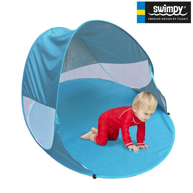 UV-telt med ventilation Swimpy blå