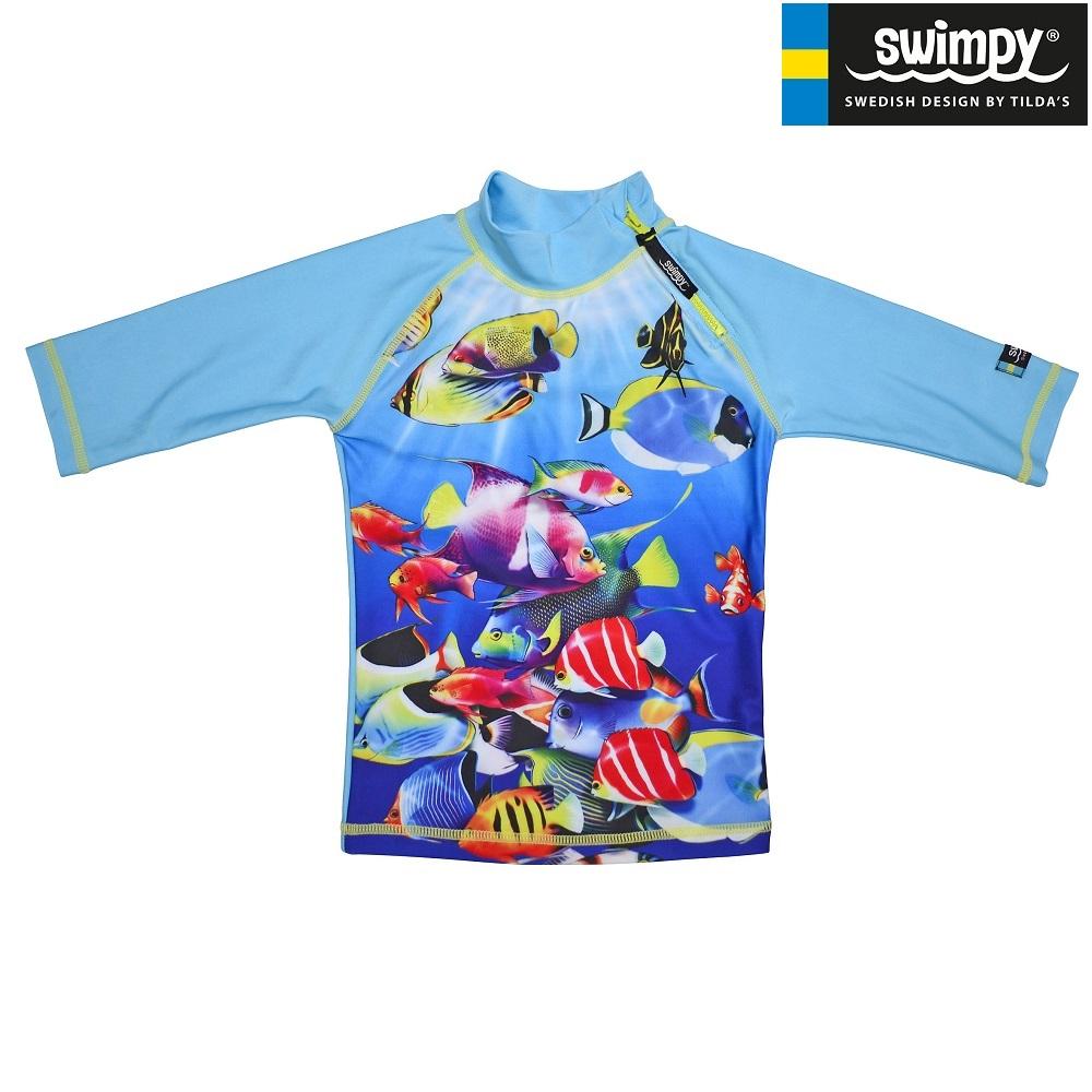 UV-trøje til børn Swimpy Fish