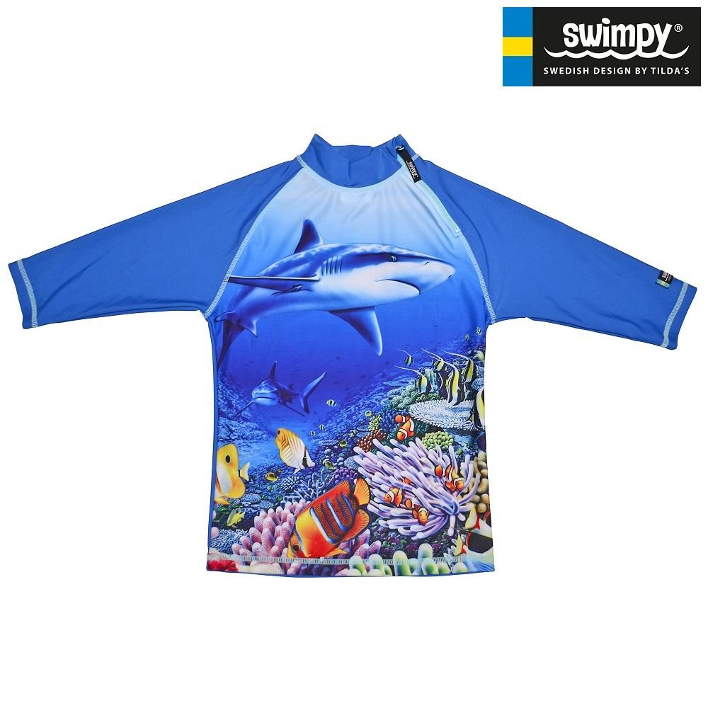 UV-trøje til børn Swimpy Shark