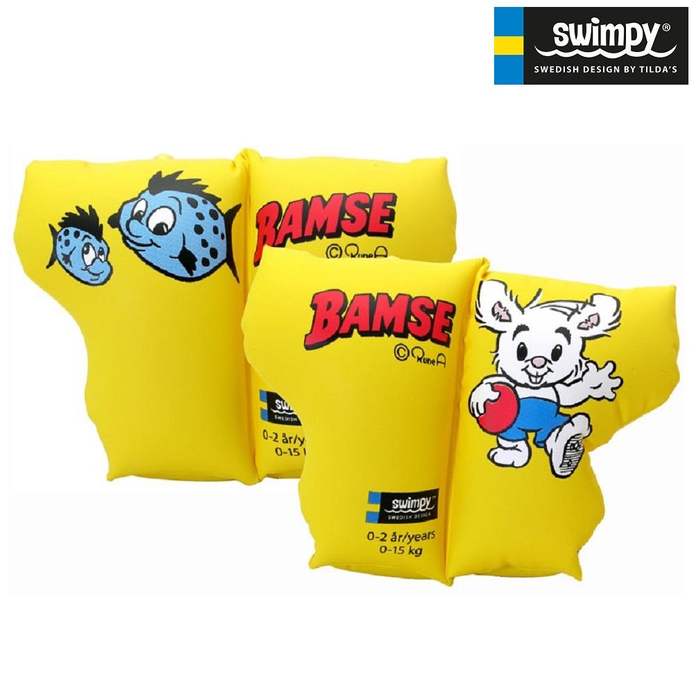 Svømmevinger til børn Swimpy Bamse