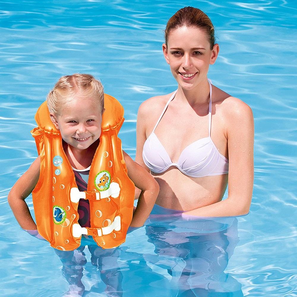 Bestway oppustelig svømmevest - Nemo