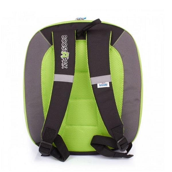 Trunki BoostApak autostol og rygsæk i ét grøn