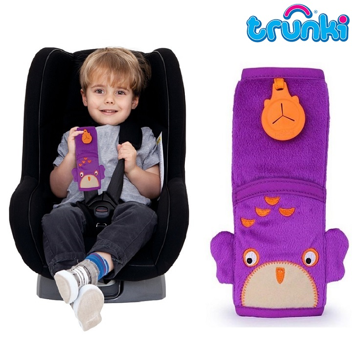 Selebeskytter Trunki Seat Belt Pad Owl Ollie