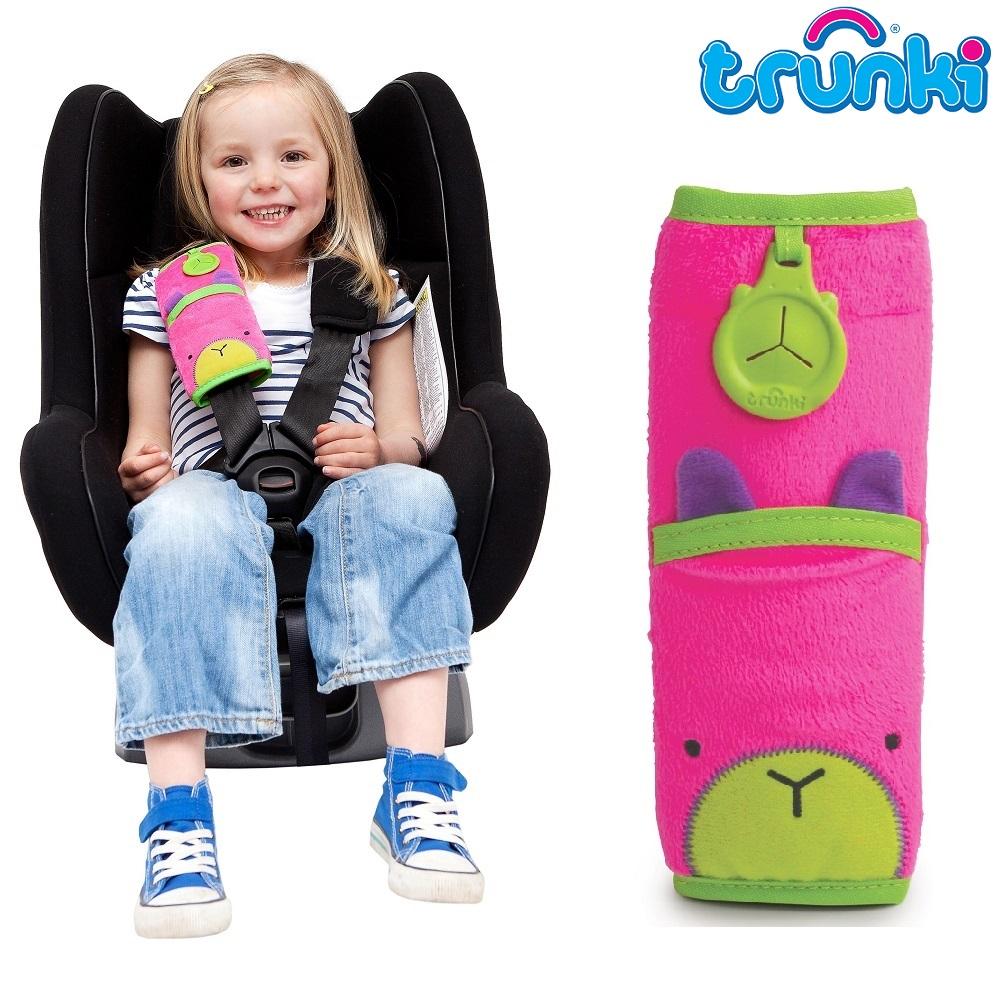 Selebeskytter Trunki Seat Belt Pad Trixie lyserød