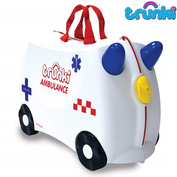 Børnekuffert Trunki Abbie Ambulance