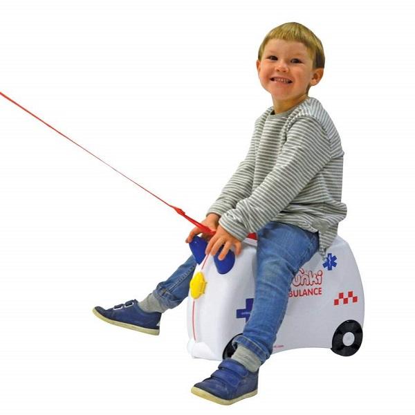 Børnekuffert Trunki Abbie Ambulance