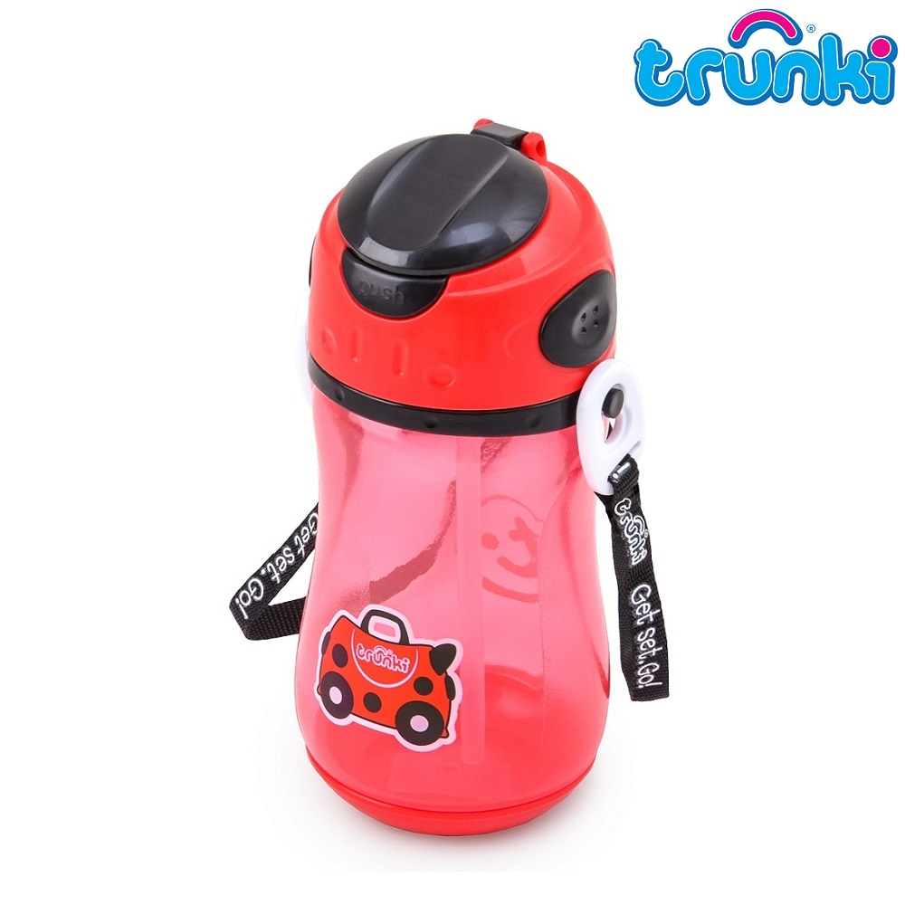Drikkeflaske til børn Trunki Harley Ladybug rød