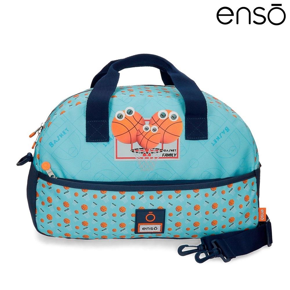 Rejsetaske og sporttaske til børn Enso Basket Family
