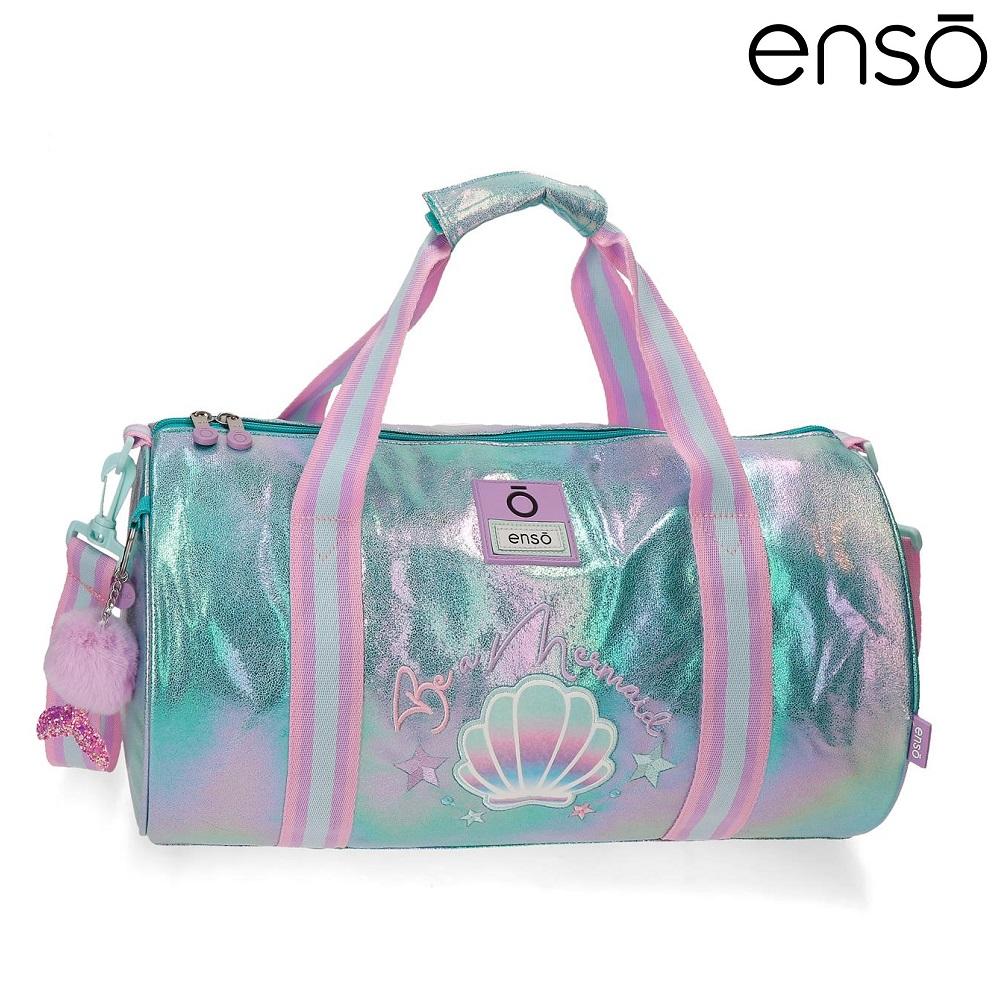 Rejsetaske og sporttaske til børn Enso Be Mermaid