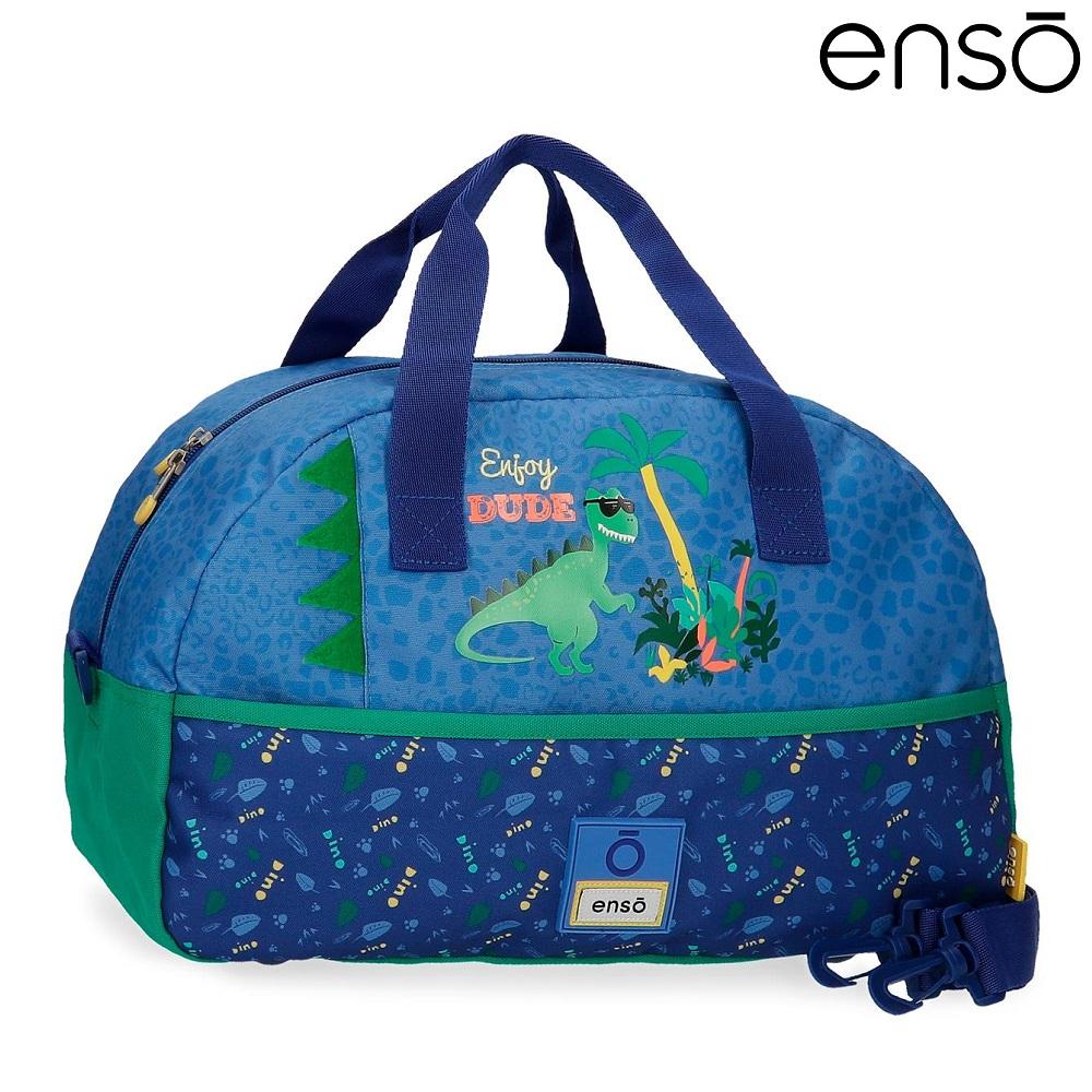Rejsetaske og sporttaske til børn Enso Dino