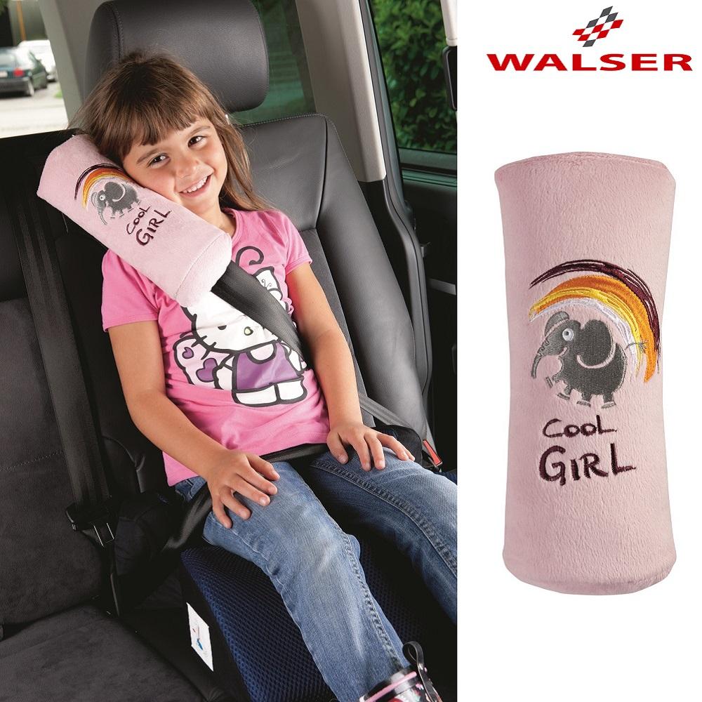 Selebeskytter med pude Walser Cool Girl lyserød