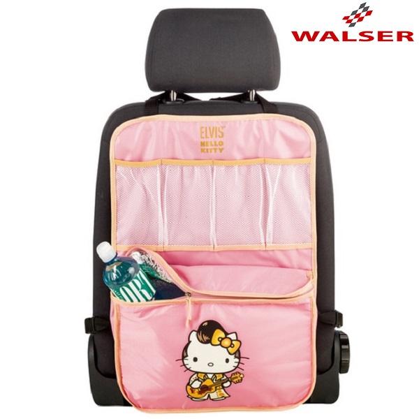 Organizer bil med termotaske Walser Coolerbag Hello Kitty lyserød