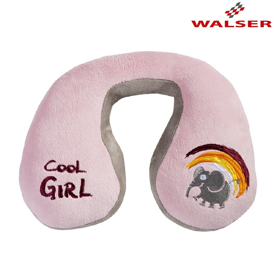 Nakkepude til børn Walser Cool Girl lyserød