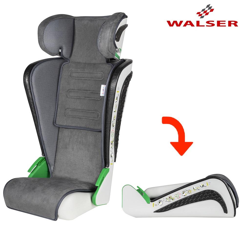 Sammenklappelig autostol Walser Noemi grå