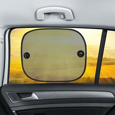 Solskærm til bil Walser sort (2-pack)