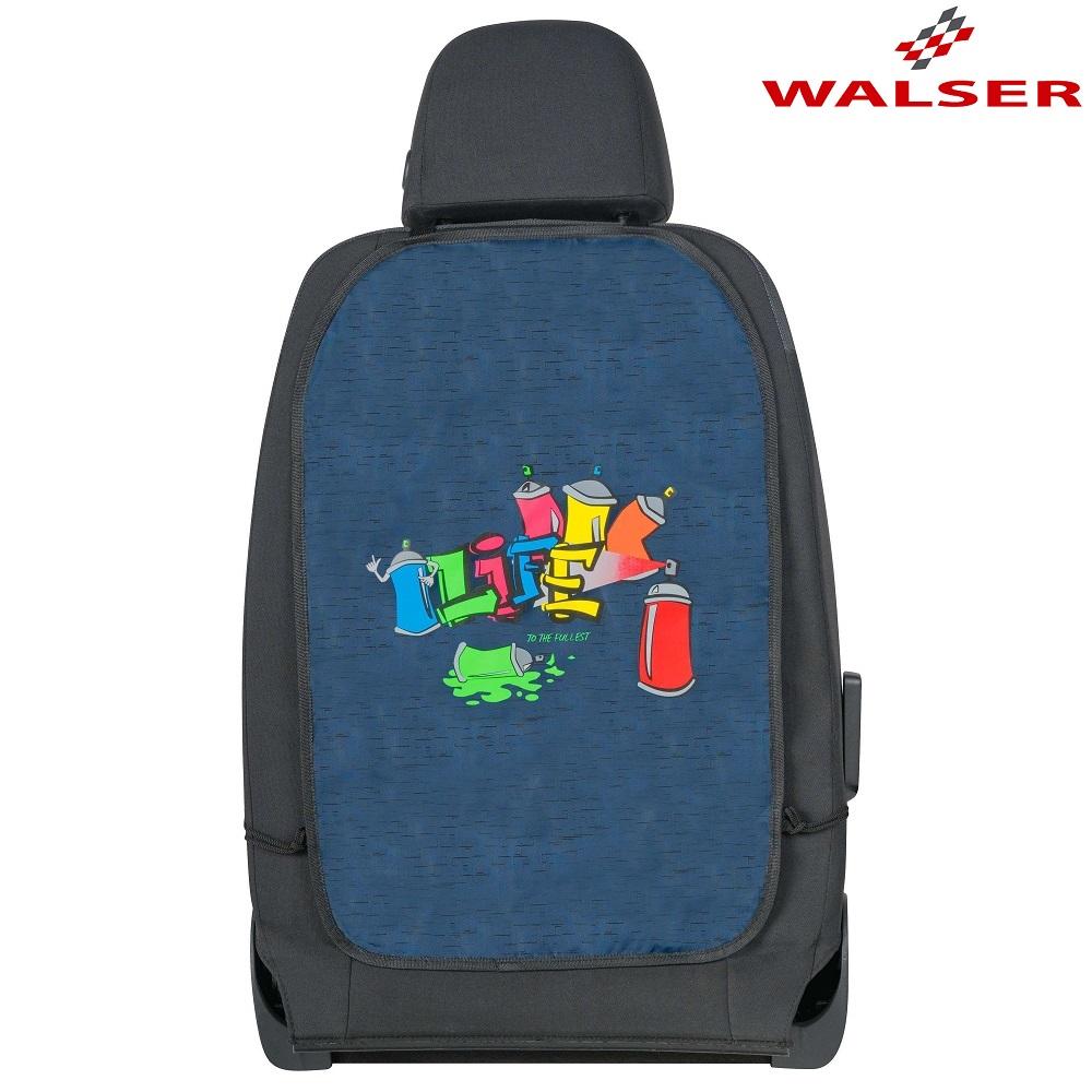 Ryglænsbeskyttelse bil Walser Graffiti blå